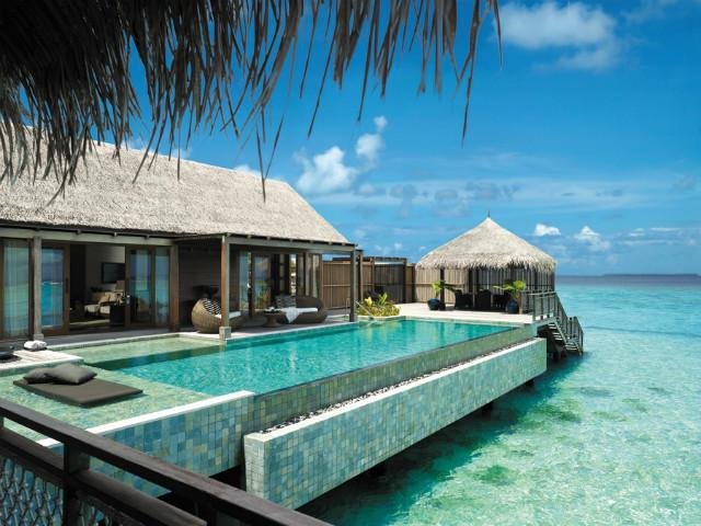 Maldivi; Shangri-La; Villingili Resort and Spa